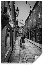 New Street,Louth, Print