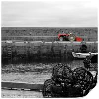 The Tractor, Print