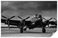 Avro Lancaster NX611 Just Jane , Print