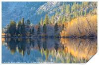 The Autumn Scene, Print