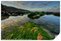 Dunraven Bay , Print