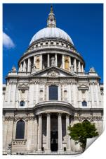 St. Pauls Cathedral in London, Print