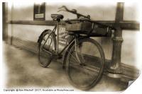 Tradesman's Bicycle, Print