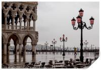 Venice Lights, Print