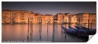 Venice Sunrise, Print