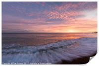 Hastings Sunset, Print