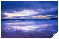 Sunset over Eile Beach, Print