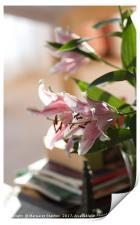 Elegant lilies , Print