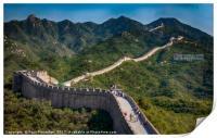 The Great Wall of China at Badaling, Print