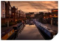 The Canals of Birmingham, Print