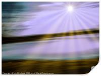 Skewed Horizon, Print