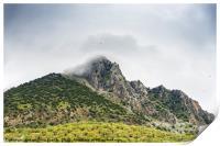 Grazalema Natural Park in Andalusia, Spain, Print