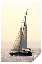 Solent Yacht, Print