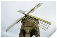 Chesterton windmill, Print