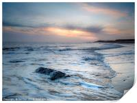 Dawn on Happisburgh Beach, Print