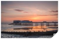 A New Day at Cromer Pier, Print