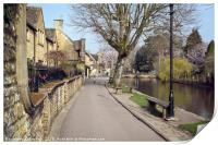 Bourton-on-the-Water , Print