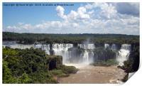 Iguazu Falls, Brazil, Print