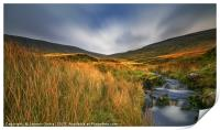 Evening in Brecon Beacons, Print