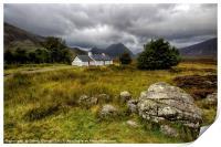 Black Rock Cottage, Print