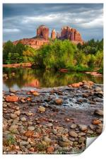 Cathedral Rock, Print