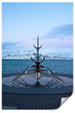 Sun Voyager, Reykjvik, Iceland, Print