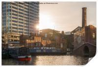 Regency Wharf, Birmingham, Print