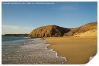 Papagayo Beach, Lanzarote, Print