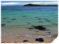 Coral Beach, Skye, landscape Scotland, Print