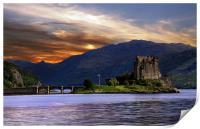 Eilean Donan Castle, Print