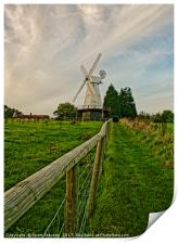 Path To The Windmill, Print