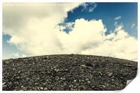 Mountain and sky, Print