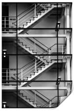 Staircase, Print