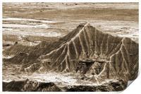 Mineral desert in Spain, Print