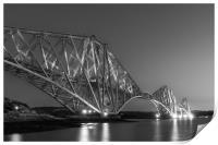 The Forth Bridge, Print