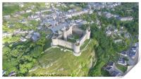 Harlech Castle from a different perspective, Print