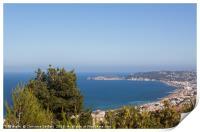 View to Javea, Print