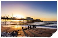 Sunrise Worthing Pier, Print