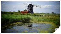 Picture Perfect Windmill, Print