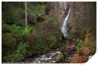The Grey Mare's Tail Waterfall, Kinlochleven, Print