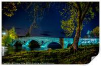 Kenmore Bridge by Night, Print