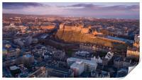 Sunrise over Edinburgh Castle, Print