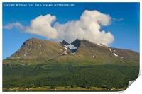 Norwegian Mountain , Print