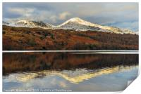 Coniston Water reflections, Print