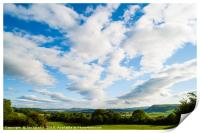 Clouds over the Lyth Valley, Print