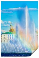 Fountains and Winter Palace 2, Print