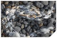 Liquid Pebbles, Print