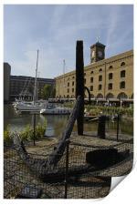 St Katharine Dock, Print