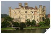 Leeds Castle, Maidstone, Kent, Print