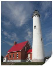 Tawas Point Lighthouse , Print
